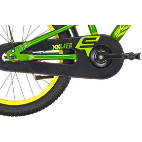 s'cool XXlite 18 Steel Kids green/yellow